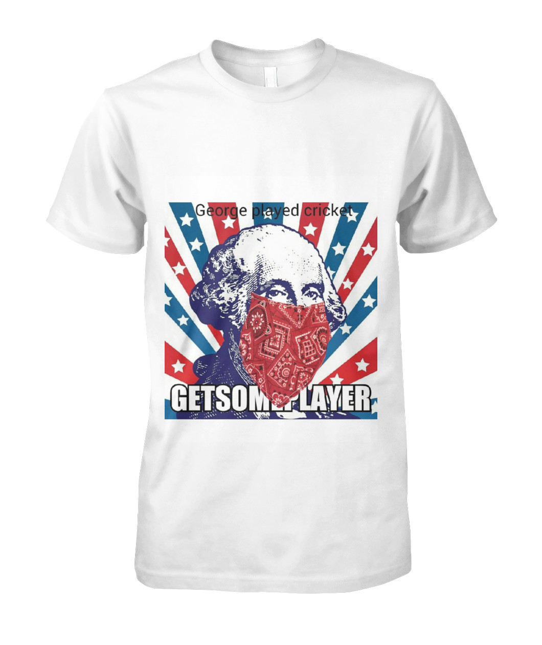 "Buy GETSOMEPLAYER ""Rebel"" George Played Cricket TShirt Here"